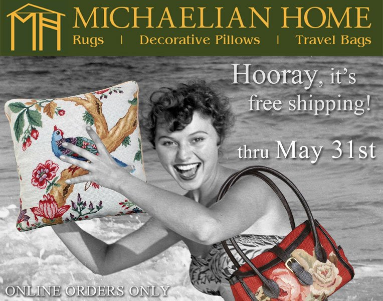 Free Shipping in May