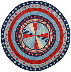 Pinwheel Red/White/Blue