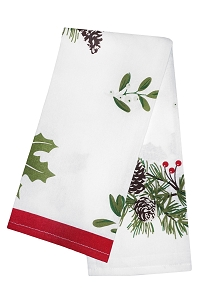 Christmas Pine Cones Kitchen Towels