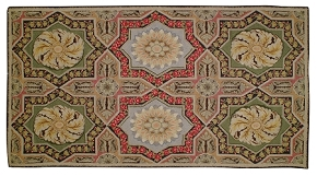 Tangiers Hooked Rug