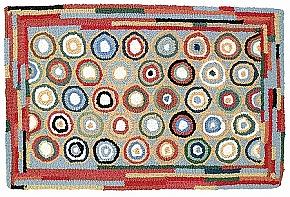 yarn hooked farm pines bailing wool rug and twine rugs whispering