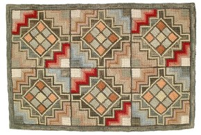 HC-721 Camp Windy Hill Hooked Rug Cotton