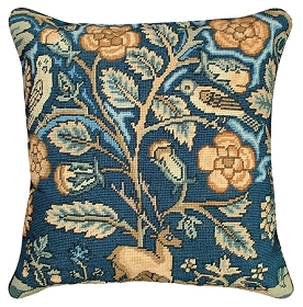 English Tapestry Stag/Owl