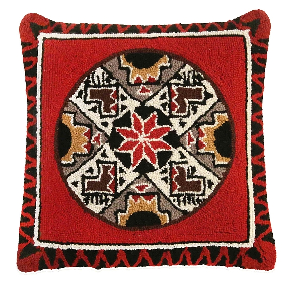 NCU-947 Quill Basket Pillow 18