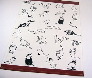 Cat House Kitchen Towel