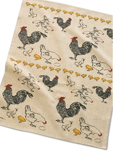 Chicken Feed Kitchen Towel