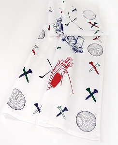 Golfing Kitchen Towel