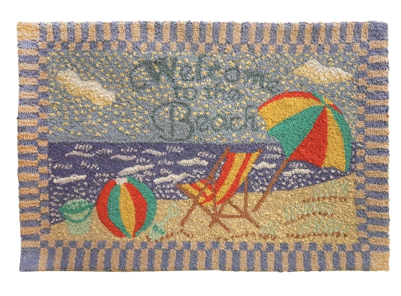 H-170 Welcome to the Beach 2'x3' Rug