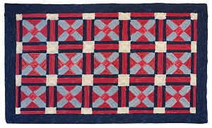 geometric area rugs for every room | michaelian home
