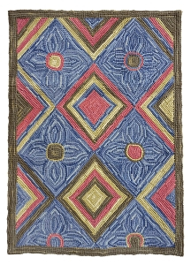 HC-768 Camp Diamond Head Traditional Cotton Rug