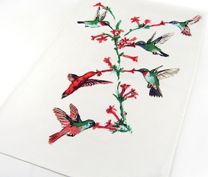 Hummingbirds Kitchen Towel