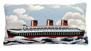 NCU-822 Normandie Needlepoint Pillow 15