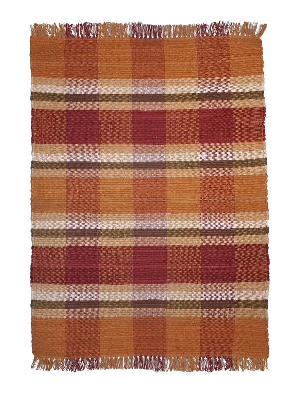 Plaid - Pumpkin (r) Rag Rugs