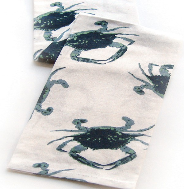 Chesapeake Crab Kitchen Towel