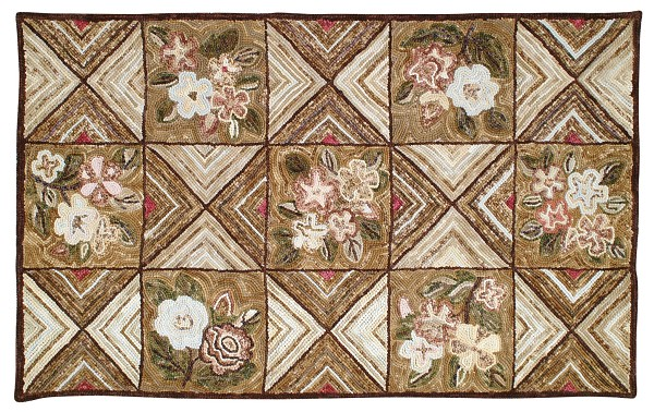 HC-700 Camp Catlett Traditional Cotton Rug