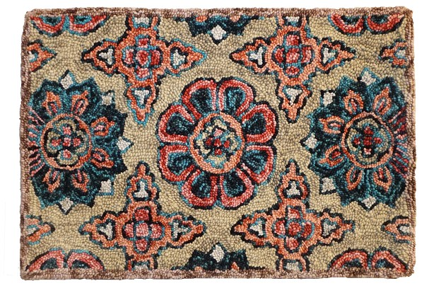 HN-101 Mary Rug Felted Wool