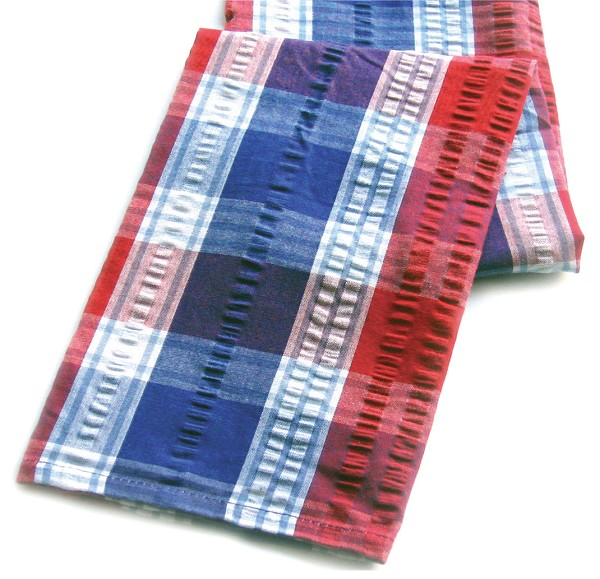 1040711 Patriot(r) Plaid Kitchen Towel