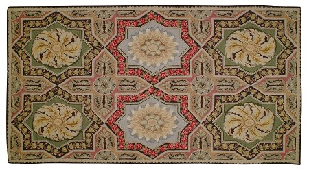 H-159 Tangiers Hooked Rug Wool