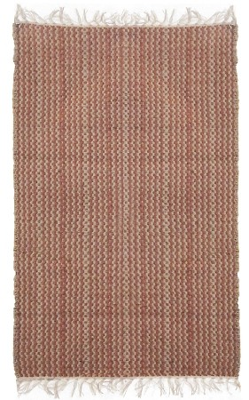 Red Twister Flat Weave Rug