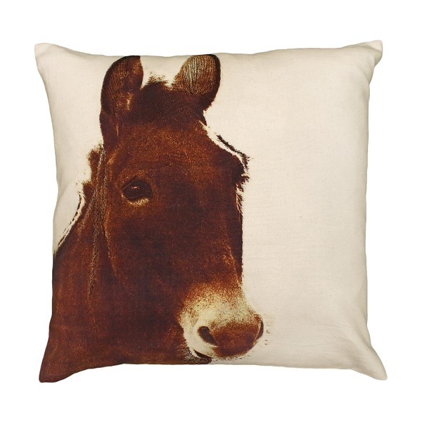 "NPE-008 Ely (Donkey) 20""x20"" Printed Pillow"