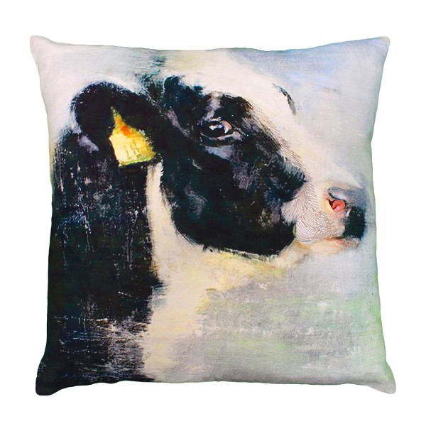 "NPE-027 Chelsea (Cow) 20""x20"" Printed Pillow"