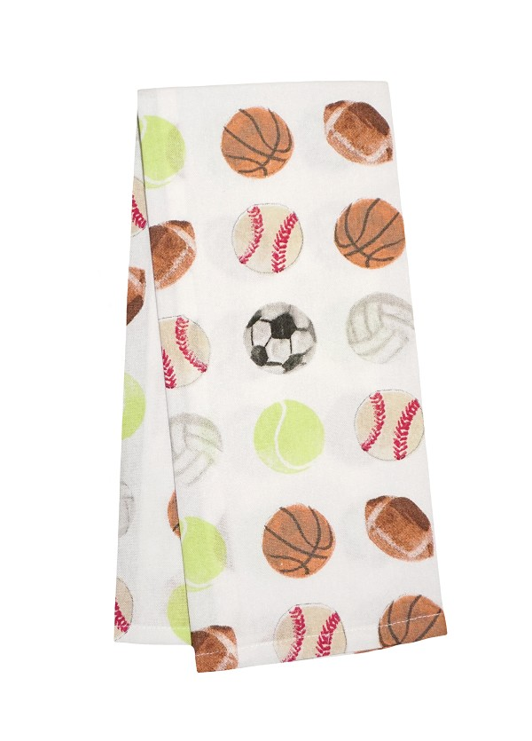Sports Balls(R) Kitchen Towel